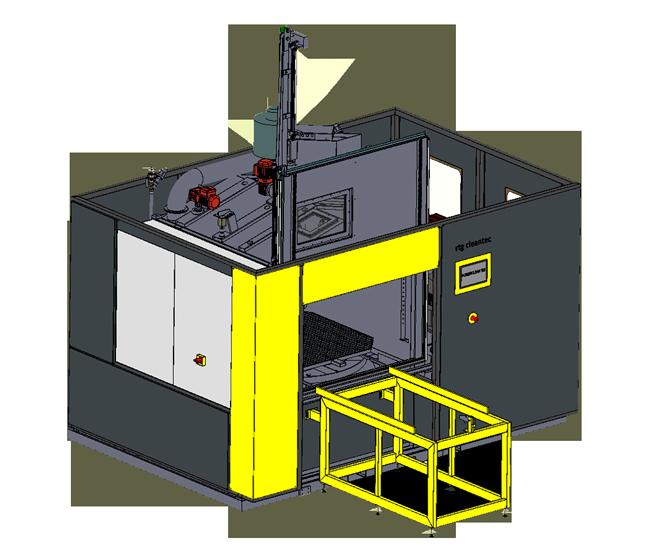 RTG Powerclean 122 Spritzreinigungsanlage